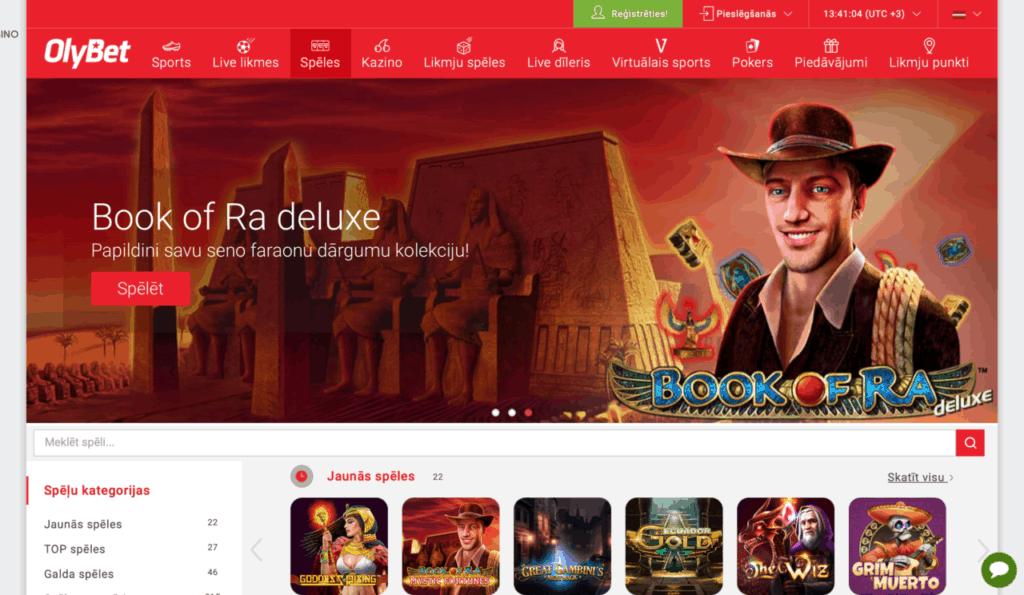 Latvijas online kazino
