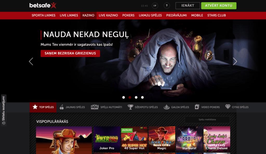 Betsafe - Latvijas online kazino