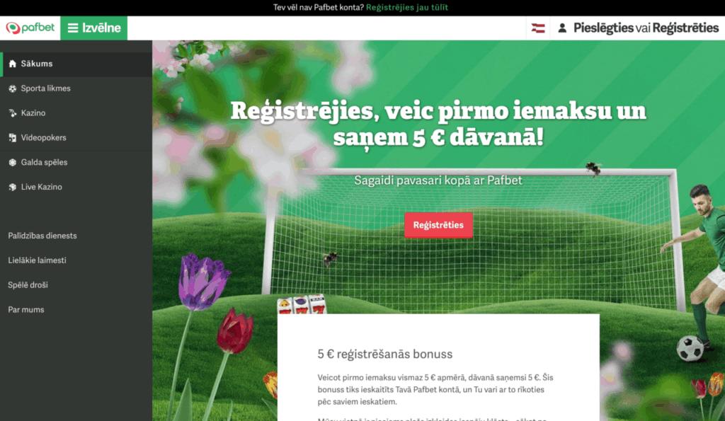 Pafbet - Latvijas online kazino