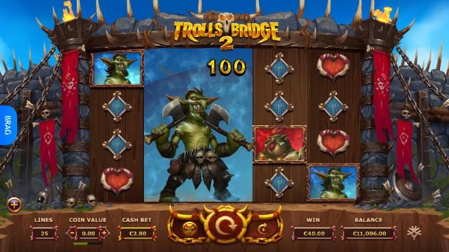 trolls bridge spelu automats