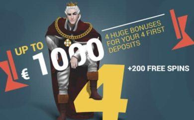 King Billy updated iepazisanas bonuss