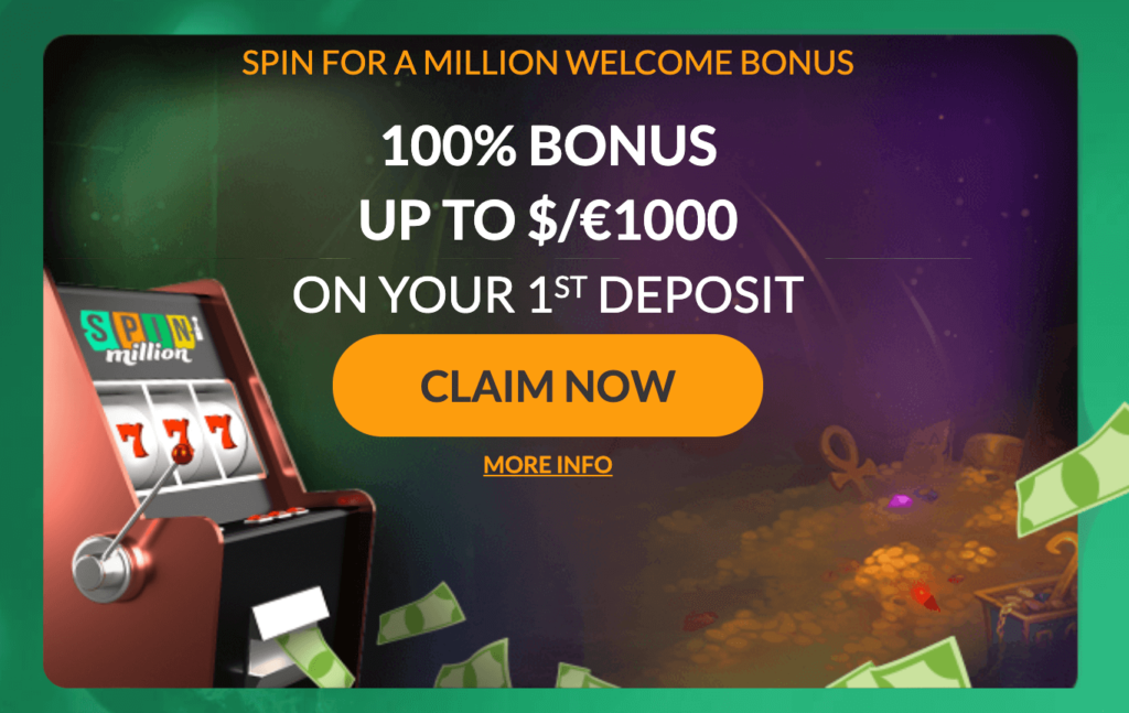 spin million bonuss