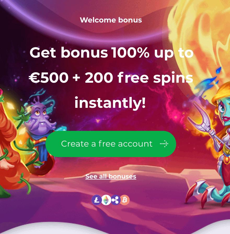 Alf Casino bonuss