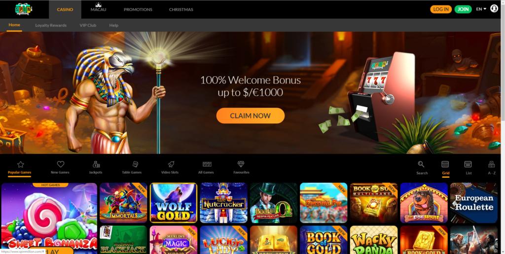 Spin Million kazino