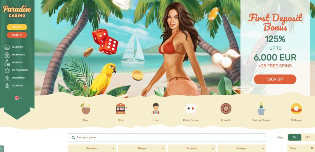 Paradise Casino казино
