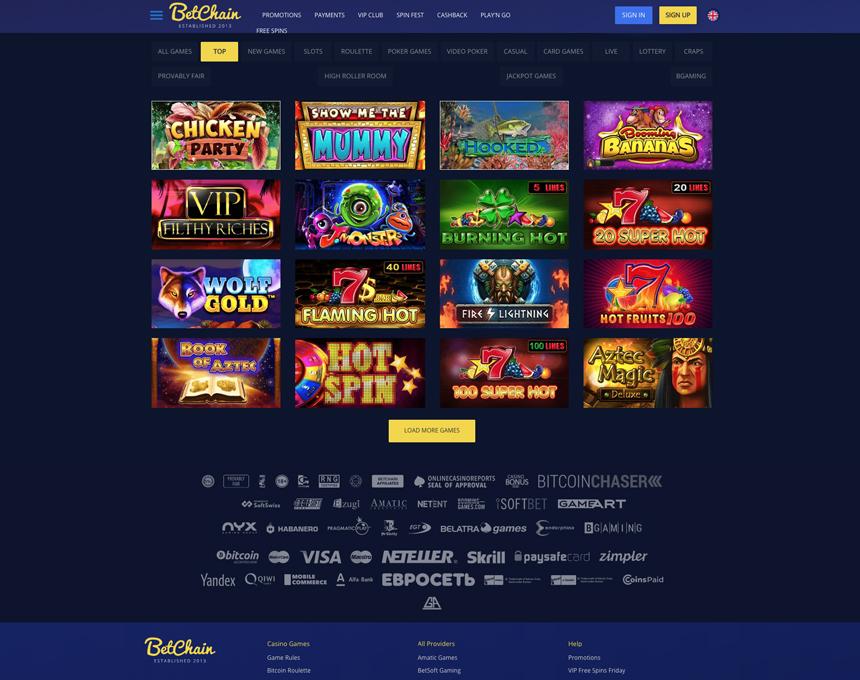 betchain kazino
