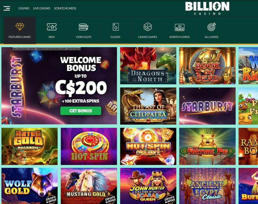billion kazino