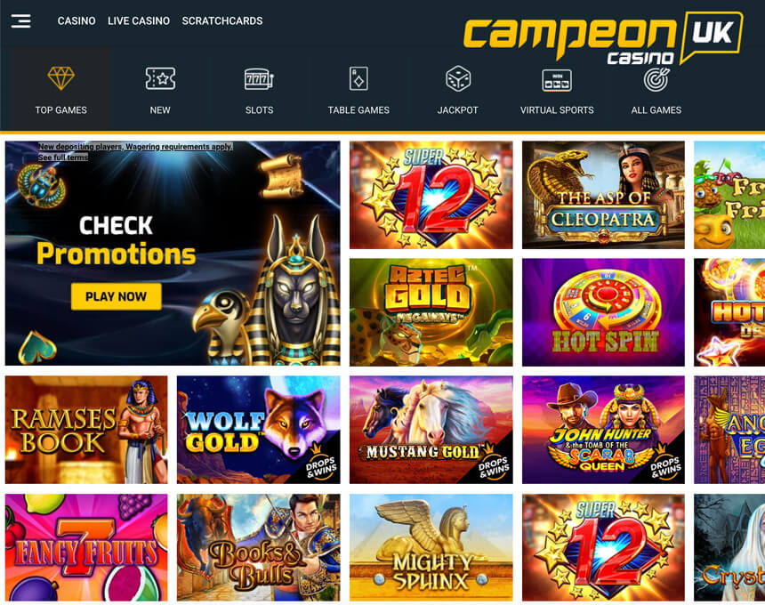 CampeonUK kazino