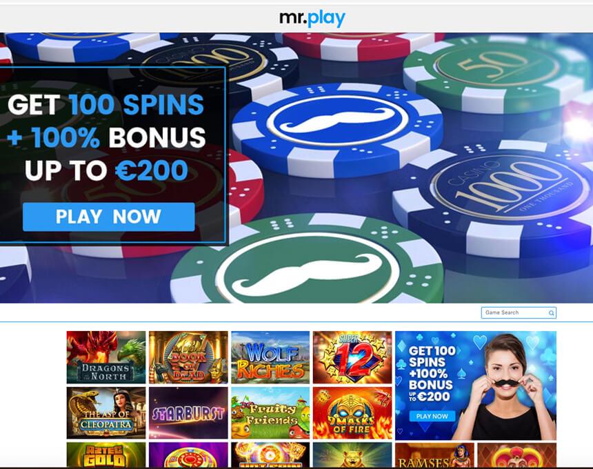 mr.play kazino