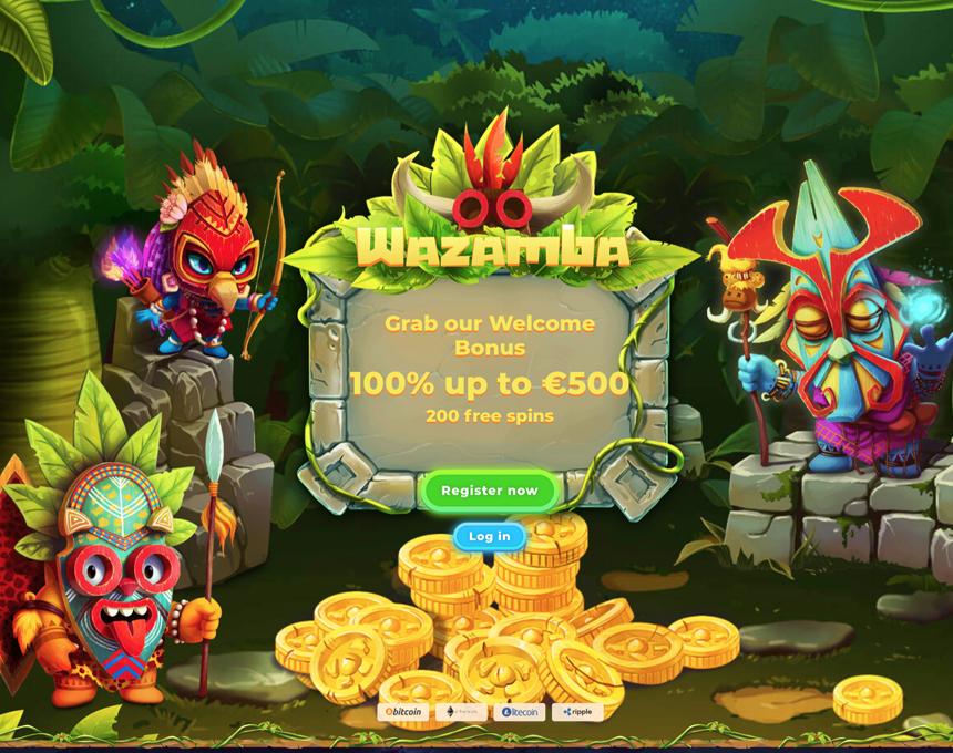 wazamba kazino apskats