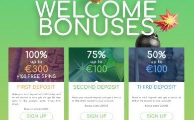 Loki bonuss
